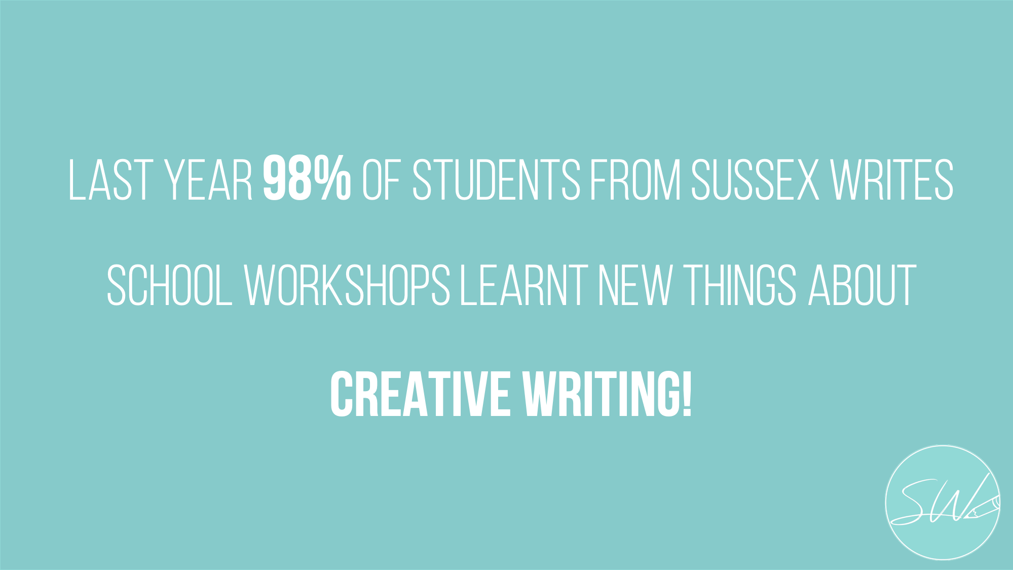 creative writing stats sussex writes